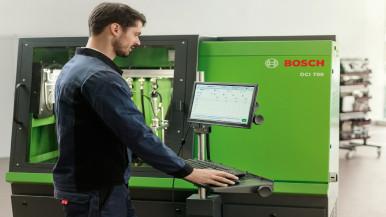 DCI 700 dízel CR-injektor vizsgáló próbapad használata